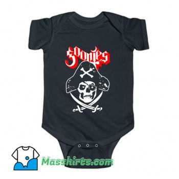 One Eyed Ghost Baby Onesie