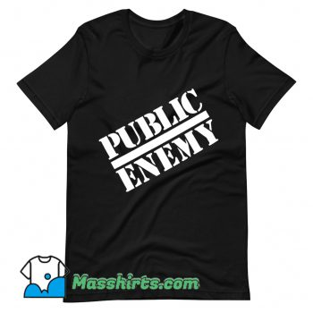 Public Enemy Chuck D Logo 1988 T Shirt Design