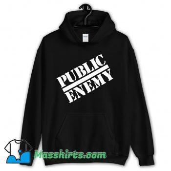 Public Enemy Chuck D Logo 1988 Hoodie Streetwear