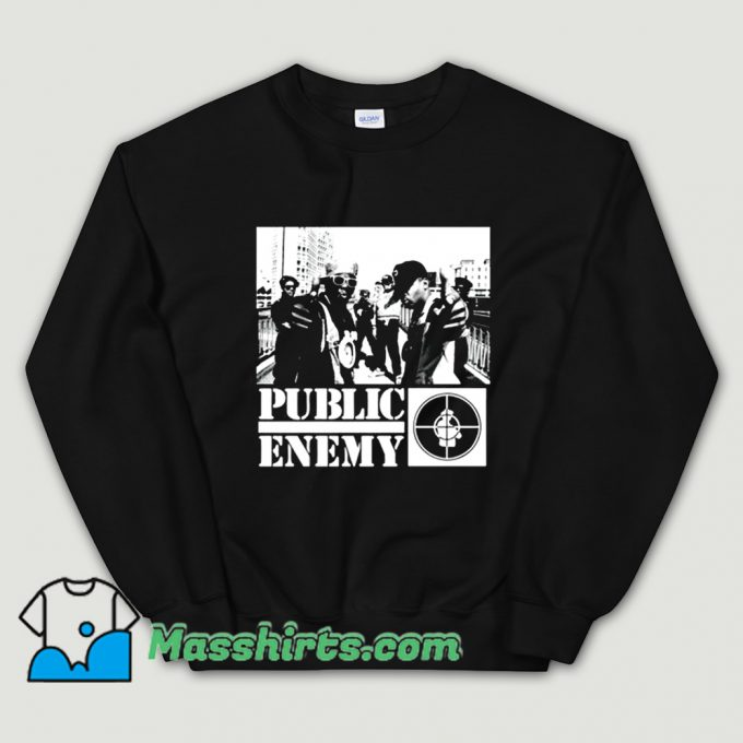 Awesome Rapper Chuck D Public Enemy Sweatshirt