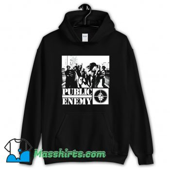 Cheap Public Enemy Chuck D Hoodie Streetwear