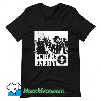 Funny Public Enemy Chuck D T Shirt Design