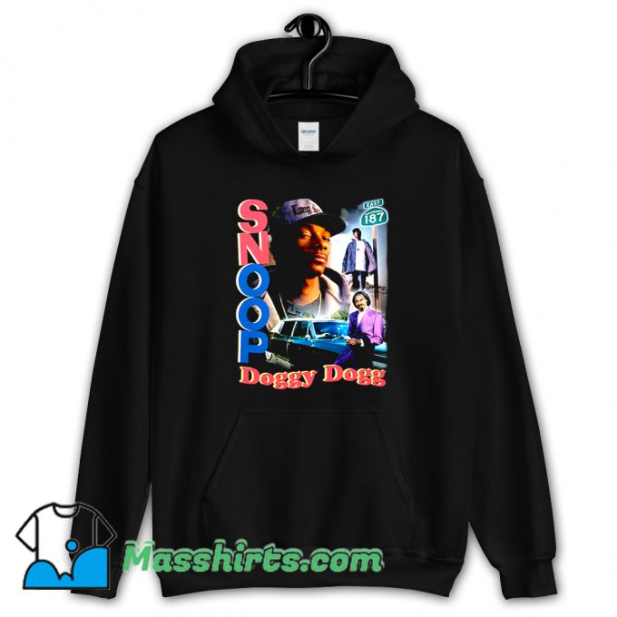 Cool Rap Snoop Doggy Dogg Retro 90S Hoodie Streetwear