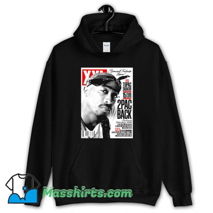 Rap Tupac Shakur Cover Mag Hoodie Streetwear