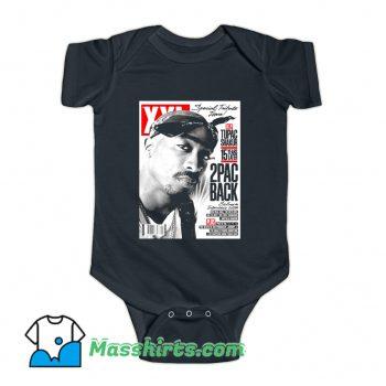 Rap Tupac Shakur Cover Mag Baby Onesie