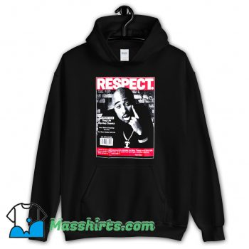 Cheap Rapper 2Pac Respect Hoodie Streetwear