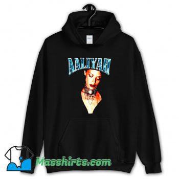 Aaliyah American Music Retro 90s Hoodie Streetwear