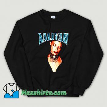 Retro 90s Aaliyah American Music Sweatshirt