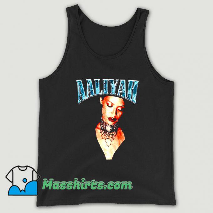 Retro 90s Aaliyah American Music Tank Top
