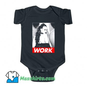 Work Rihanna Drake Anti Music Baby Onesie