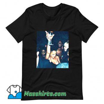 Rihanna Night Club Party T Shirt Design