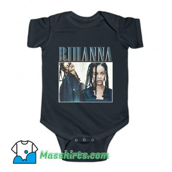 Rihanna Rap Hip Hop 90s Baby Onesie