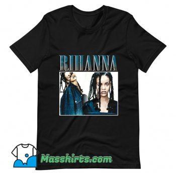 Vintage Rihanna Rap Hip Hop 90s T Shirt Design