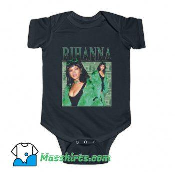 Rihanna Summer Fashion Baby Onesie