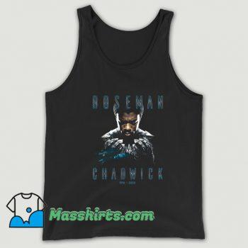Rip Chadwick Boseman Black Panther Tank Top