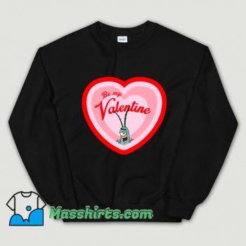 Spongebob Plankton Be My Valentine Sweatshirt