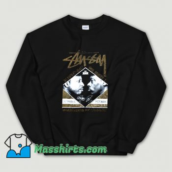 Stussy Pete Rock Vs Dj Premier Battle Sweatshirt