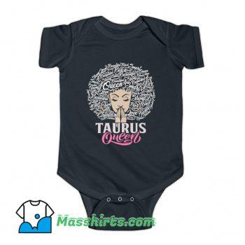 Taurus Queen Beautiful Smart Baby Onesie