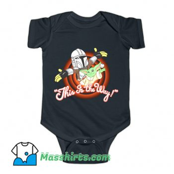 This Is The Way Of The Mandalore Baby Onesie