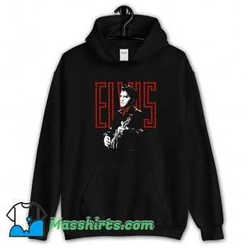Toddler Red Guitarman Elvis Presley Hoodie Streetwear