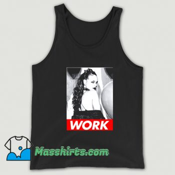 Work Rihanna Drake Anti Music Tank Top