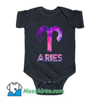 Zodiac Aries Hip Hop Baby Onesie