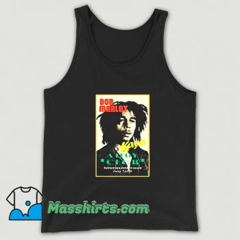Ahoy Club Reggae Bob Marley Tank Top On Sale