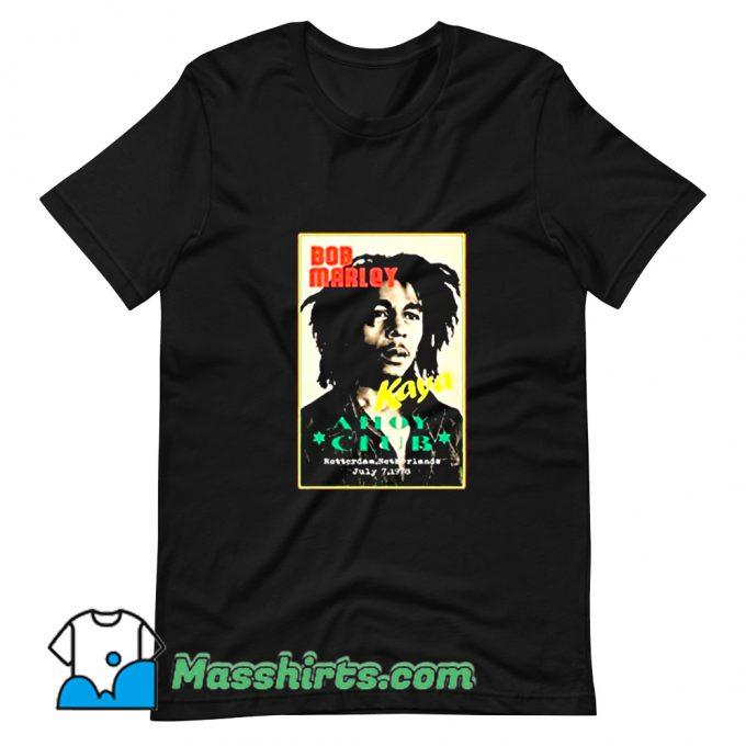 Ahoy Club Reggae Bob Marley T Shirt Design