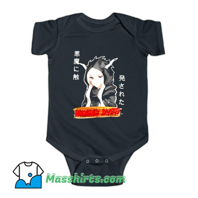 Anime Demon Lord Demonically Baby Onesie