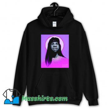 Funny Aretha Franklin Long Hair Hoodie Streetwear