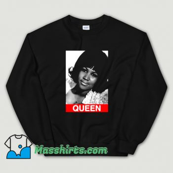 Original Aretha Franklin Queen Photos Sweatshirt