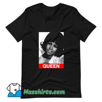 Cute Aretha Franklin Queen Photos T Shirt Design