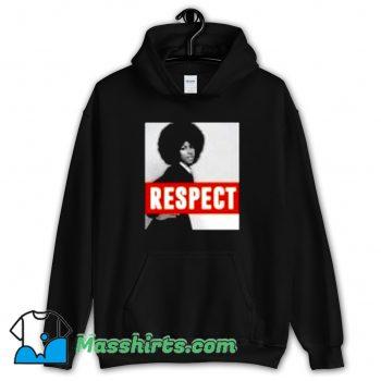 Aretha Franklin Respect Natural Hair Hoodie Streetwear