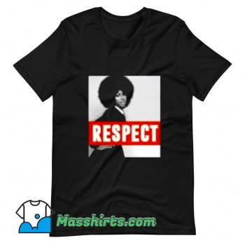 Aretha Franklin Respect Natural Hair T Shirt Design