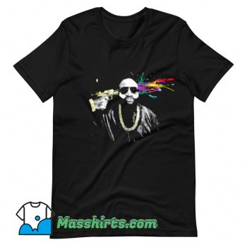 Artistic Rick Ross Rapper T Shirt Design On Sale
