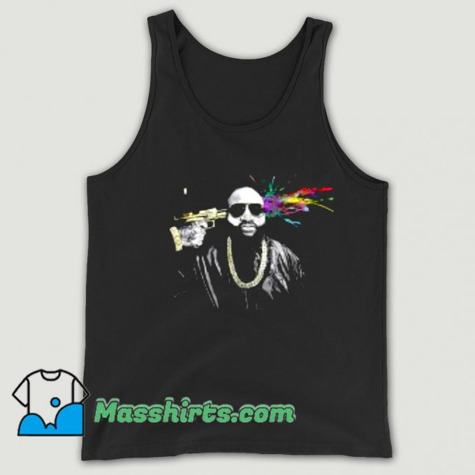 Artistic Rick Ross Rapper Tank Top
