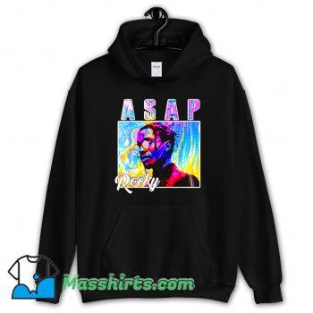 Asap Rocky Colorful Hoodie Streetwear