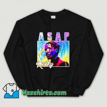Asap Rocky Colorful Sweatshirt On Sale