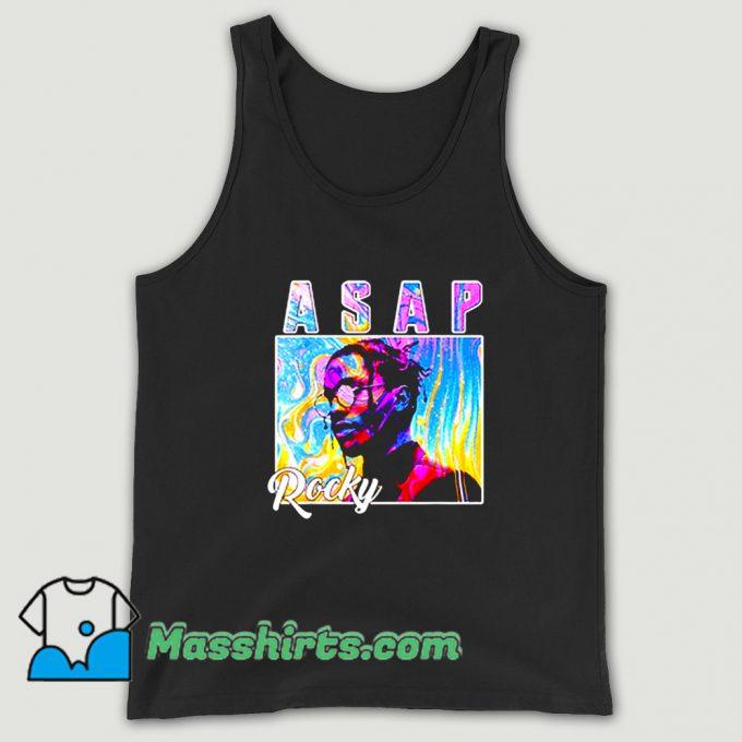 Asap Rocky Colorful Tank Top