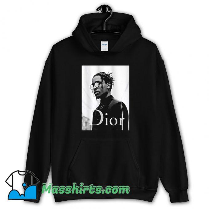 Cheap Asap Rocky Dior Rapper Hoodie Streetwear