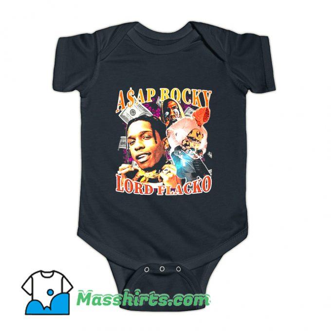 Asap Rocky Lord Flacko Rap Baby Onesie