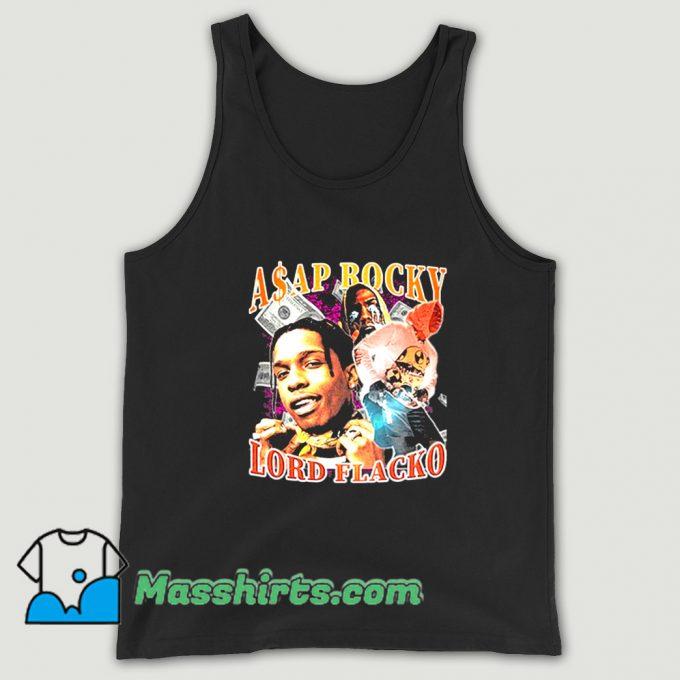 Asap Rocky Lord Flacko Rap Tank Top