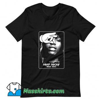 Rap Asap Rocky X Magic Hand T Shirt Design