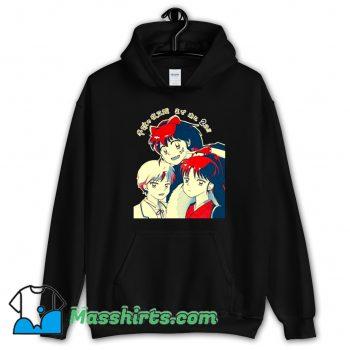 Cool Ashahime Princess Half Demon Hoodie Streetwear
