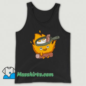 Baby Calcifer Cook Eggs and Meat Delicious Tank Top