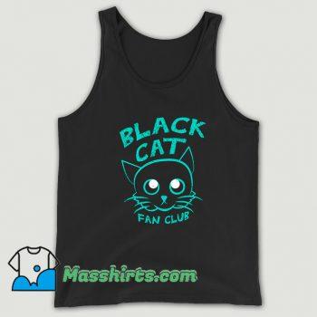Vintage Black Cat Fan Club Tank Top