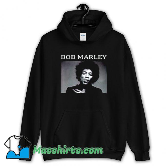 Awesome Bob Marley Jimi Hendrix Hoodie Streetwear