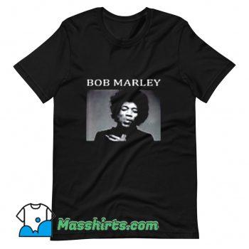 Bob Marley Jimi Hendrix T Shirt Design