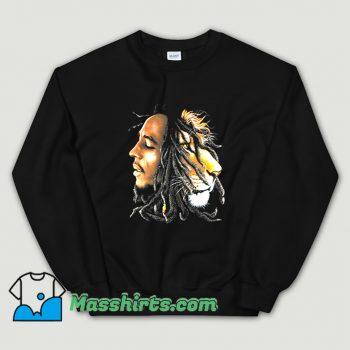 Original Bob Marley Lion Profile Sweatshirt