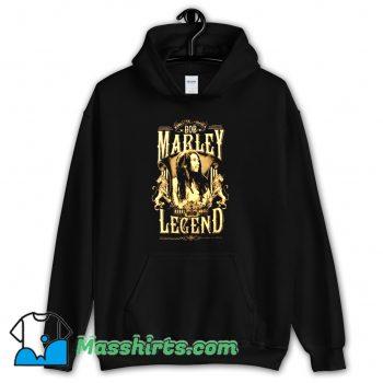 Bob Marley Rond Rebel Legend Hoodie Streetwear